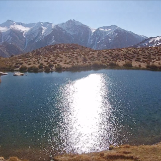 Altiplanic Lagoon with Sun Tilt