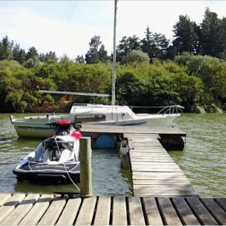 Boat Jetski at Dock Rise