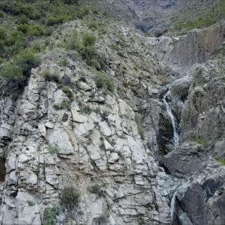 Rocky Waterfall Rise
