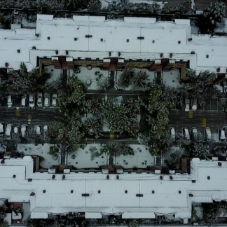 Snowy Building Zenith