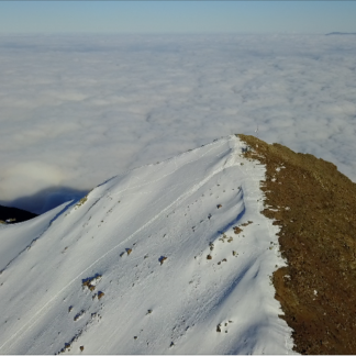 Split Mountain to Clouds Reveal